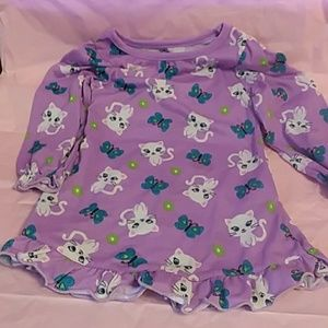 Other - Long sleeve girls nightgown